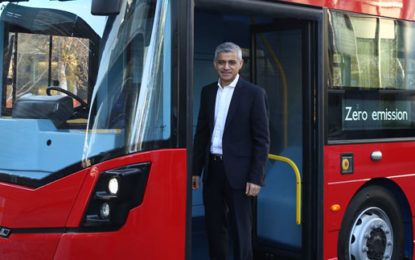 New Low Emission Bus Zones for London