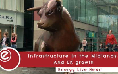 Infrastructure in the Midlands and UK growth