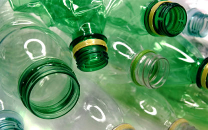 Christmas tree goes green…with plastic bottles!