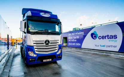 Rapid refuelling at Liverpool Port to boost HGV efficiency