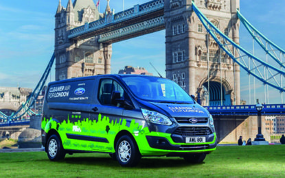 London to trial Ford's new plug-in hybrid vans