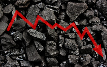 UK coal production halved to record low in 2016