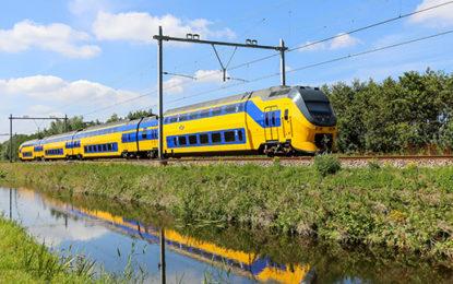 Dutch trains get the wind in their sails