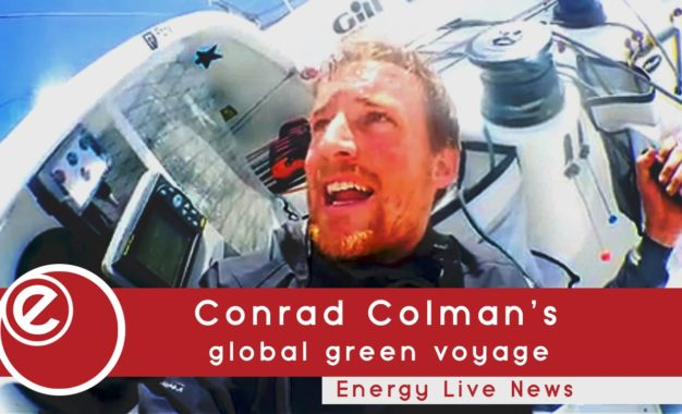 Conrad Colman's global green voyage