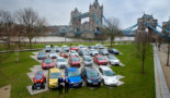 Carmakers display vehicles in new low emission drive