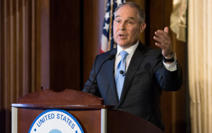 US climate chief reverses emission-cuts delay