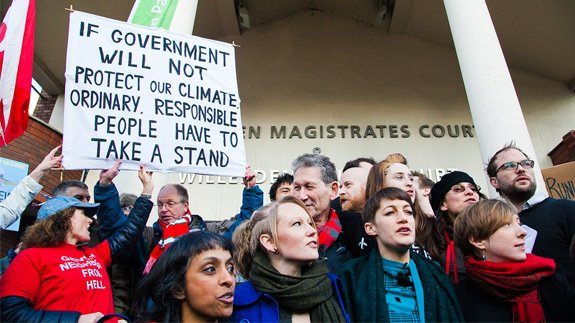 Plans for the third runway at Heathrow have attracted protests. Image: Dinendra Haria/Shutterstock