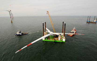 Bumper year for UK offshore wind construction in 2016