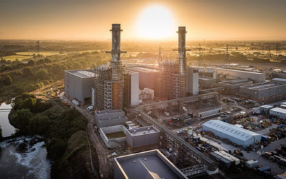 New £710m gas-fired plant opened in UK