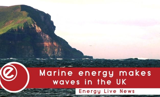 Marine energy makes waves in UK waters