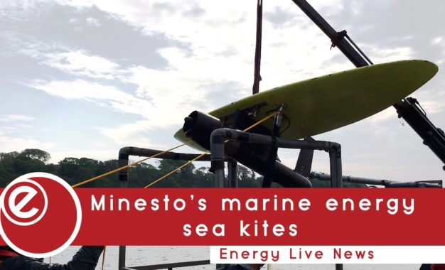 Minesto unleashes marine energy 'sea kites'