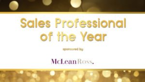 Sales Professional of the Year