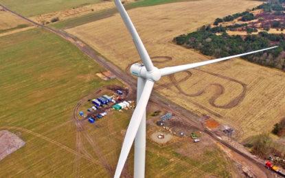 Siemens installs low wind turbine for testing