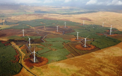 New 36MW UK onshore wind farm powers up
