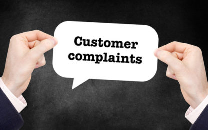 Domestic energy complaints at three-year low