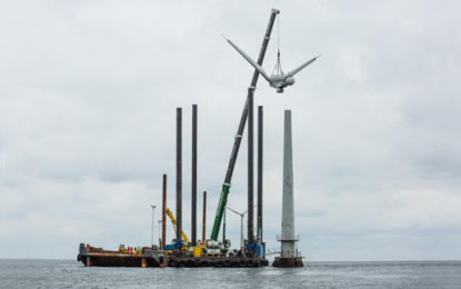 World's first offshore wind farm retires