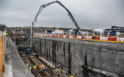 First concrete poured at Hinkley Point C