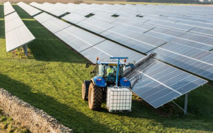 Northern Ireland's largest solar farm switched on