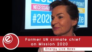 Former UN climate chief sets ambitions pre-2020 in new campaign