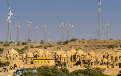 India adds record wind power capacity
