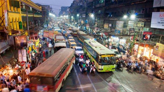 Kolkata, capital of India's West Bengal state. Image: Radiokafka/Shutterstock