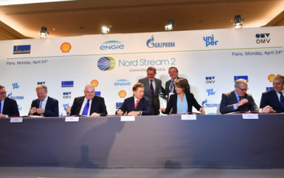 Five energy firms invest in Gazprom's gas pipeline