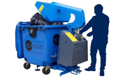 Businesses can save money with waste compactor
