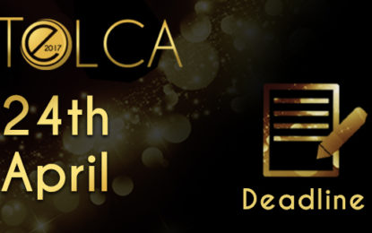 TELCA deadline is looming! Get your entries in