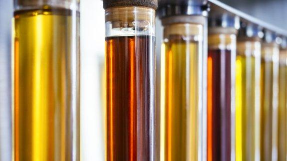Flasks of ethanol.  Image: Shutterstock