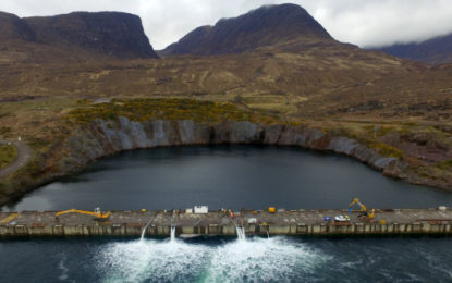 Dry dock resurrected to build floating wind farm