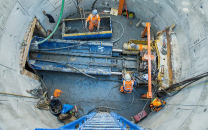 Thames Water completes multi-million pound sewer