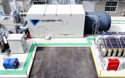 Toyota trials hybrid hydrogen power at car plant