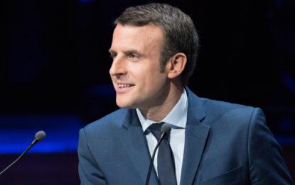 French president-elect backs renewable energy