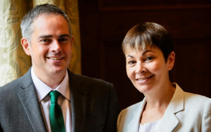 Green Party pledges to 'take back control' of energy system