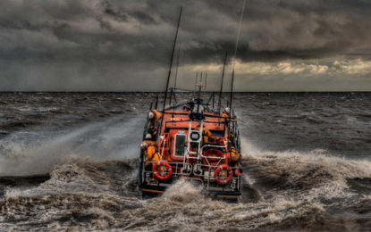 Lifeboat charity makes a splash on energy storage