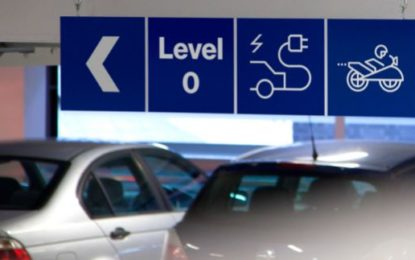 Parking discount for greener cars at London car park