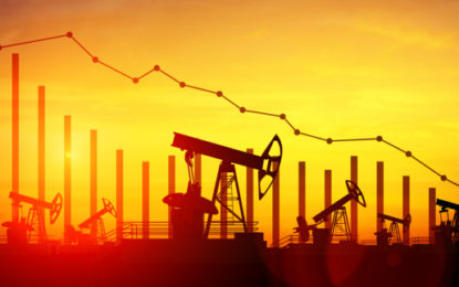 Oil price falls after OPEC extends production cuts