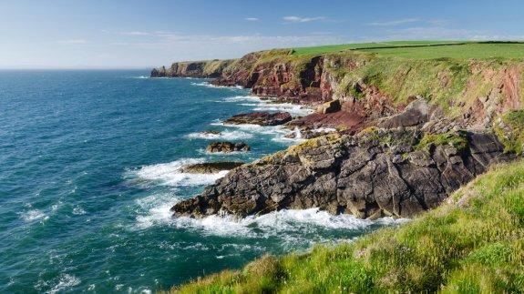 The Pembrokeshire Coast.  Image: Shutterstock
