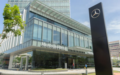 Mercedes Benz's domestic storage hits US