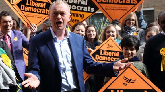 Tim Farron, Leader of the Liberal Democrats.  Image: Dominic Dudley / Shutterstock.com