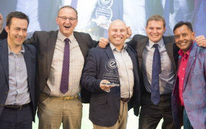 Catalyst Commercial bags Energy Management Champion award