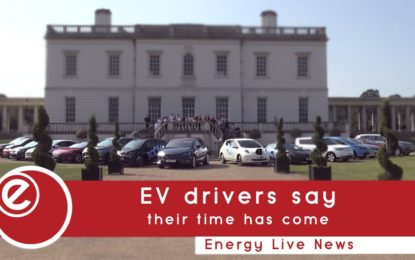 EV drivers say their time has come