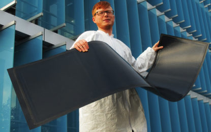 Flexible solar panels get ready to roll out