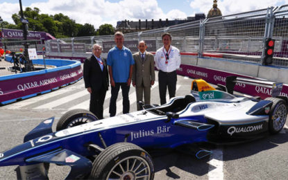 UN and Formula E race ahead to tackle air pollution