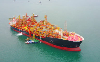 First oil delivery from Kraken North Sea field