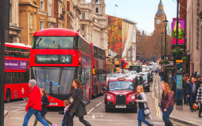 London mayor considers pay-per-mile charges for drivers
