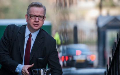 Cabinet reshuffle: Michael Gove appointed Environment Secretary
