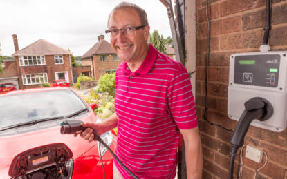 Nottingham plugs in first EV home charger