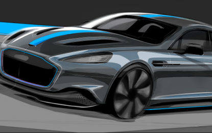 Aston Martin goes all electric with new supercar