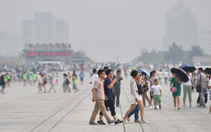 Chinese finance platform fights air pollution